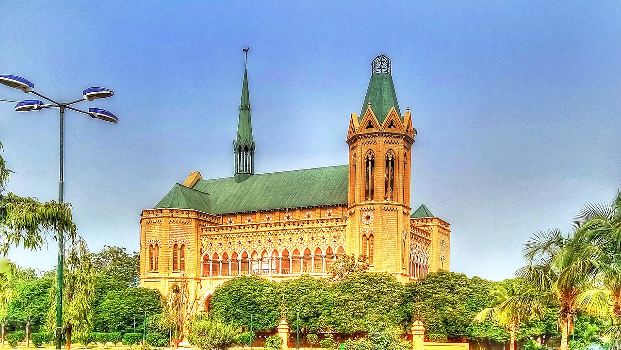 Frere Hall Library Karachi
