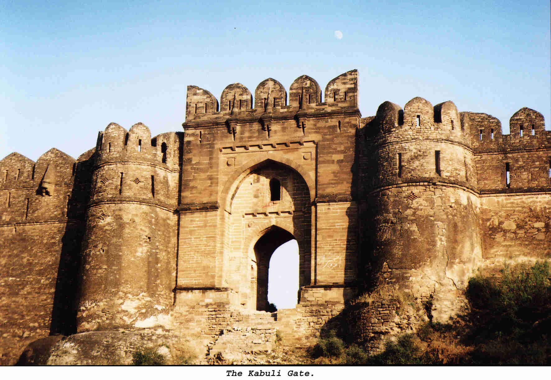 Rohtas Fort, Magnificent Kabuli Gate